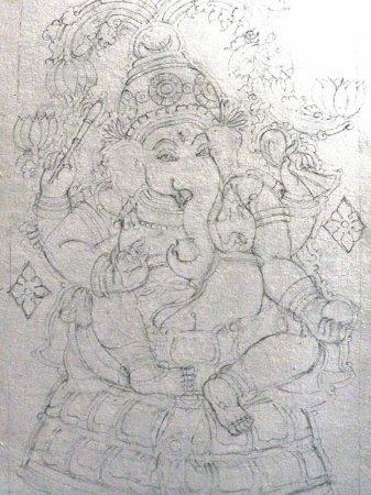 Kerala Mural Painting Designs For Tracing