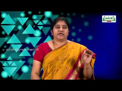 கவிதைப் பேழை Std 8 English Sentences pattern Kalvi TV