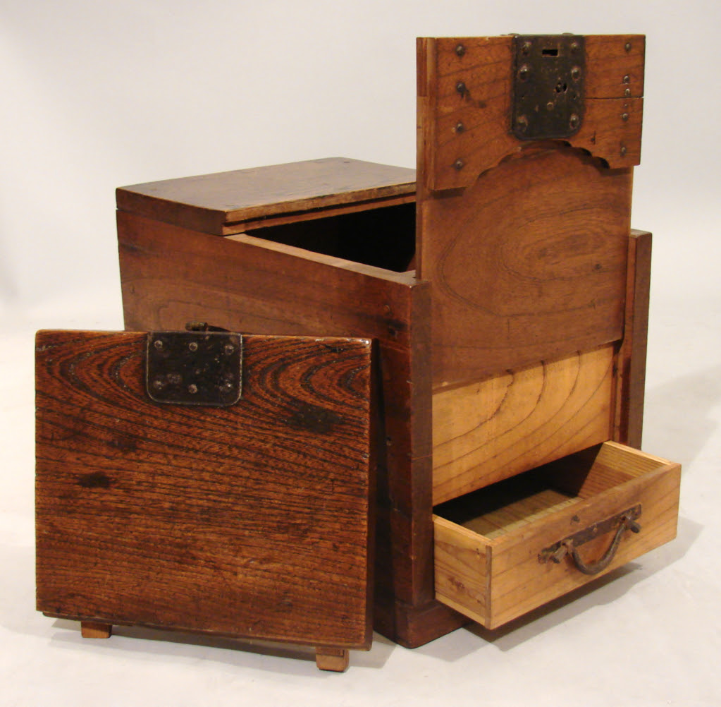 Japanese Merchant's Chest with Secret Compartment | StashVault