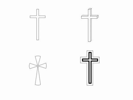 Cross Outline Tattoo Designs Celtic Cross Cross Tattoo Designs