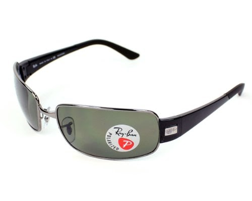 1d0dc7139c Shoirao  Ray Ban RB3421 Sunglasses-004 9A Gunmetal (Polarized Gray Green  Lens)-62mm