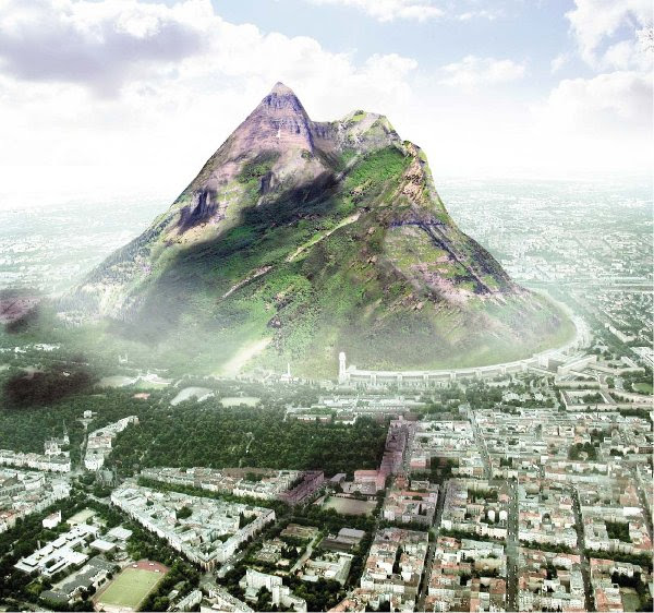 perierga.gr - Τεχνητό βουνό προετοιμάζεται στο Βερολίνο!