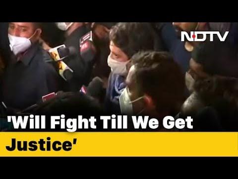 Won't Stop Till Justice Is Served, Says Priyanka Gandhi On Hathras Case