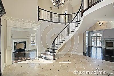 foyer-spiral-staircase- ...