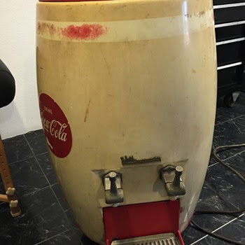 Coca Cola Barrel Dispenser