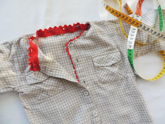 reciclar roupa de criança
