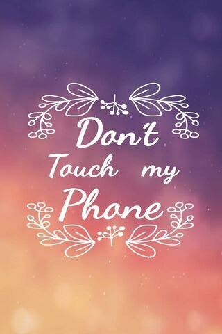 Download 830 Wallpaper Hp Dont Touch My Phone HD Paling Keren