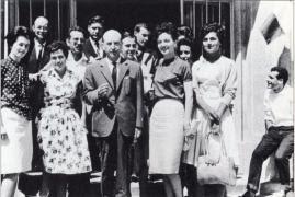 Carvalho, co seu alumnado e persoas colaboradoras