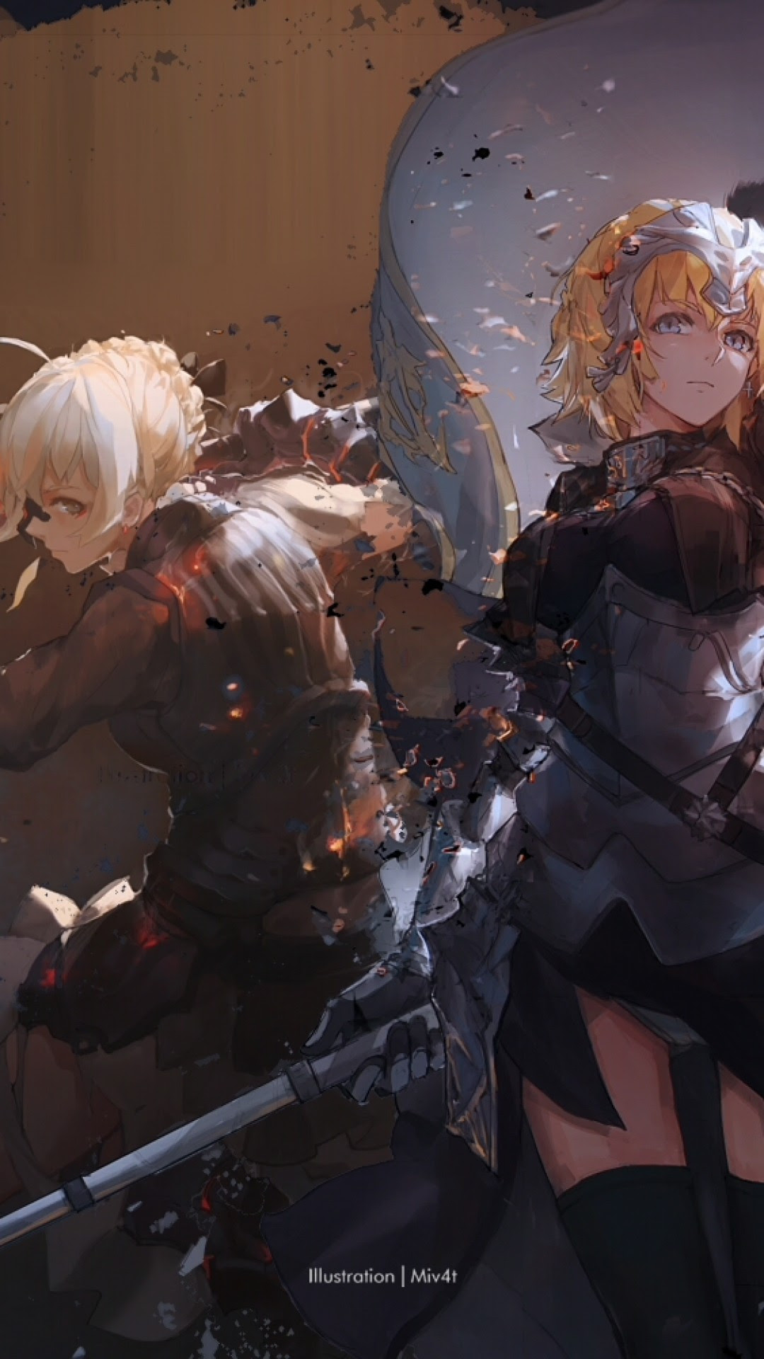 Download 1080x1920 Fate Stay Night, Saber, Armored, Ruler ...