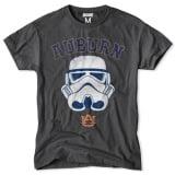 Auburn Tigers NCAA Star Wars T-Shirt - Charcoal