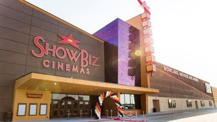The new ShowBiz Cinemas concept is slated to open in spring 2017 to take advantage of the summer blockbuster season.