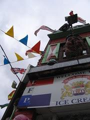 ice cream in the wind