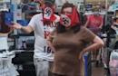 Couple wearing swastika face masks insist they aren't Nazis as Walmart bans them
