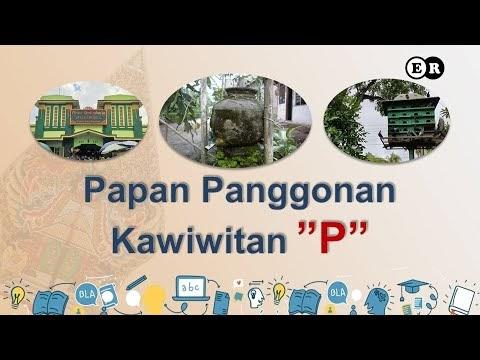 """Papan Panggonan Kawiwitan """"P"""""""