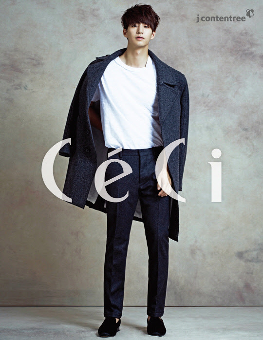 Song Jae Rim - Ceci Magazine October Issue '14