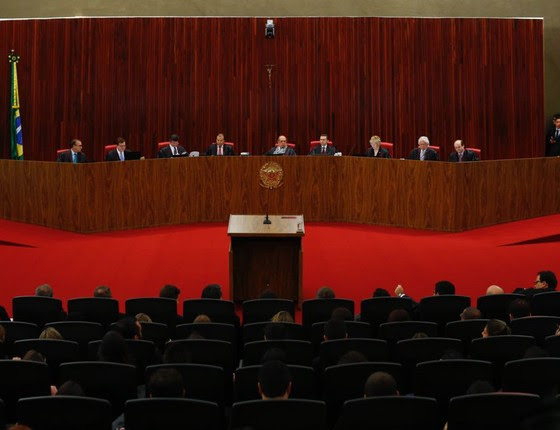 Julgamento da chapa Dilma e Temer no TSE. (Foto: Sergio Lima/ Epoca)