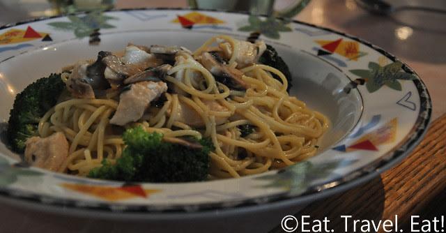 Sesame Grill: Chicken Linguini (Spaghetti Subbed)