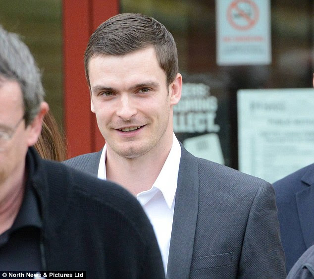 The Sunderland star grinned as he left the court after a five-minute hearing which saw his solicitor, Paul Morris, indicate he would plead not guilty