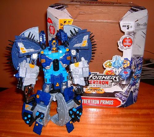 Transformers Primus Cybertron