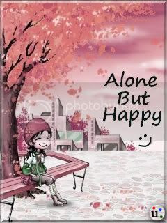 Alone But A Happy Girl Pics Lonely Images Alone But A Happy Girl