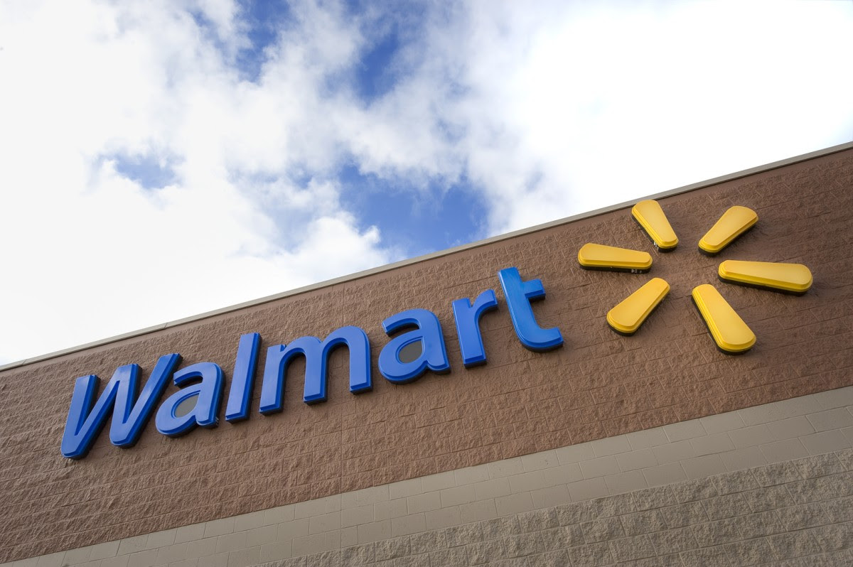 Walmart Supercenter blue logo