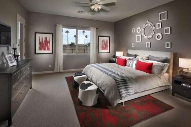 20 Beautiful Gray Master Bedroom Design Ideas - Style