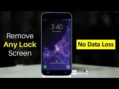 Unlock Samsung Lock Screen Pattern, Pin, Password and Fingerprint