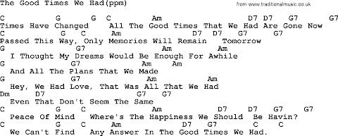 Times We Had Lyrics