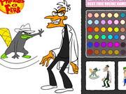 Fineas Förb Ve Ajan Perry Boyama Oyunu Oyna Disney Oyunları