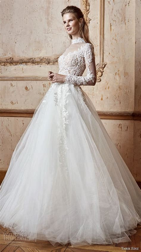 Tarik Ediz White 2017 Wedding Dresses   Wedding Inspirasi