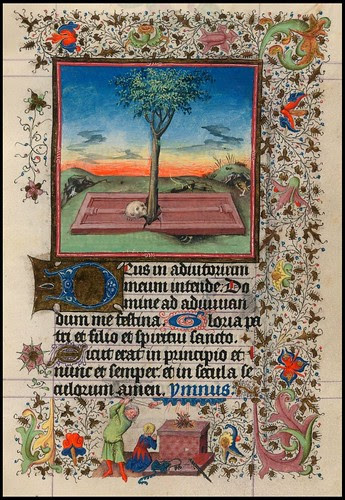 The Hours of Catherine of Cleves (Morgan Library)(cropped page) a