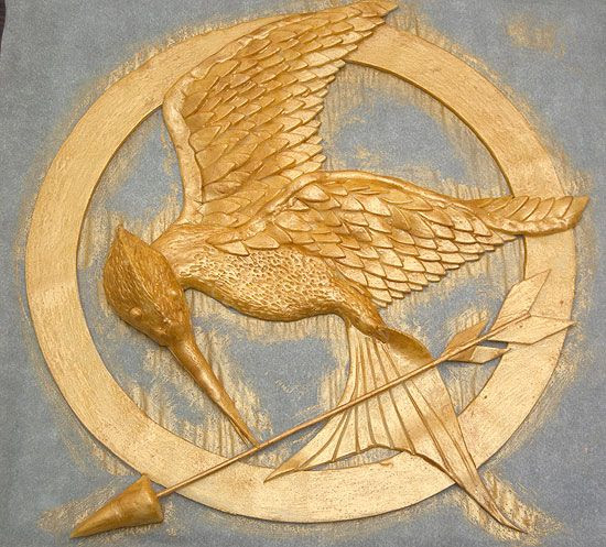 DIY - HOW TO MAKE HUNGER GAMES GAME = Mockingjay Done