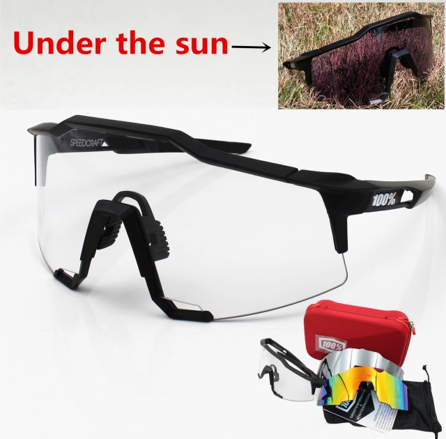 29cde00ed04 Mini velo Bike   The Cheapest Online 100 speedtrap speedcraft Brand 3 Lens  clear lens Outdoor Sports Bicycle Sunglasses bicicleta MTB Cycling Glasses  ...