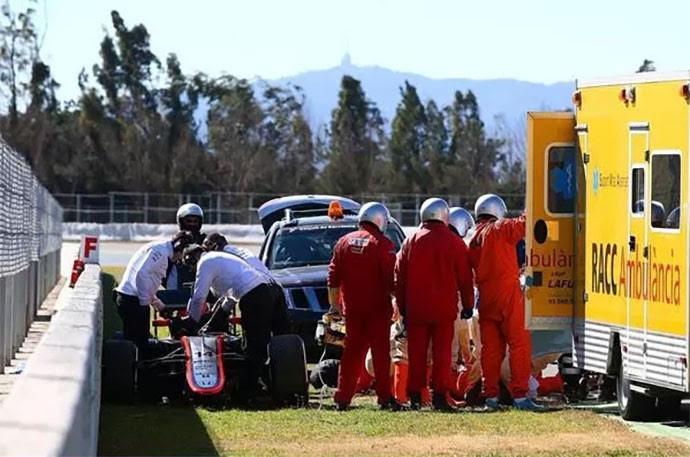 Alonso bate treino Barcelona F1 (Foto: Twitter)