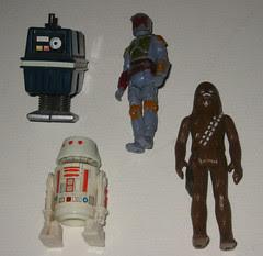 My Childhood Star Wars figures