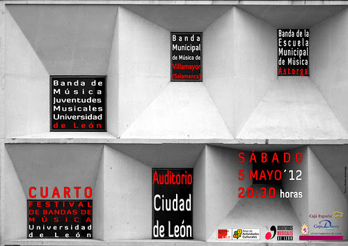 """IV FESTIVAL DE BANDAS DE MÚSICA """"UNIVERSIDAD DE LEÓN"""" - 05.05.12 by juanluisgx"""