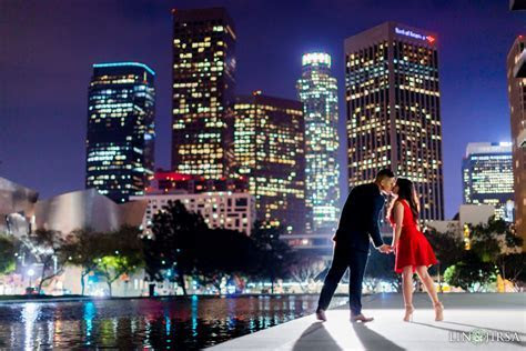Downtown Los Angeles Engagement   Sharlyn & Jon