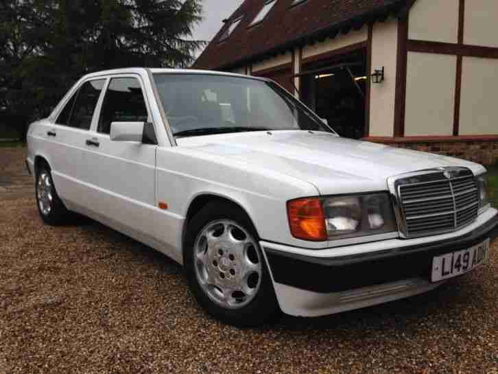 1993 Mercedes 190E 2.0 Auto Last year produced with Airbag ...