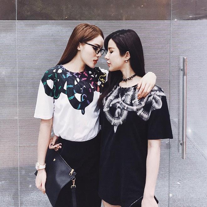 Đẳng cấp đồ đôi kiểu Kỳ Duyên - Diệp Lâm Anh: chơi thân với nhau thì phải mua hàng hiệu cùng nhau - Ảnh 8.