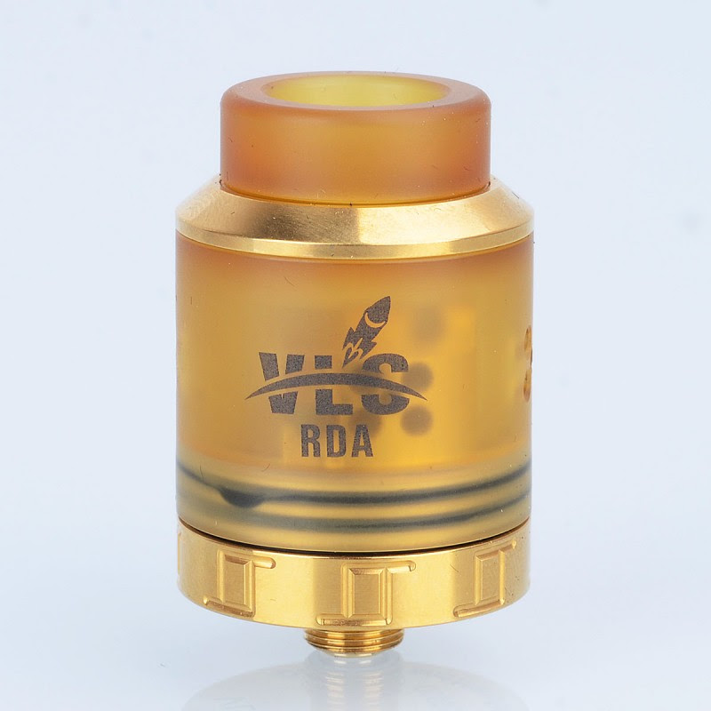 Authentic Oumier VLS BF RDA 25mm Gold Rebuildable Dripping Atomizer - $27.99