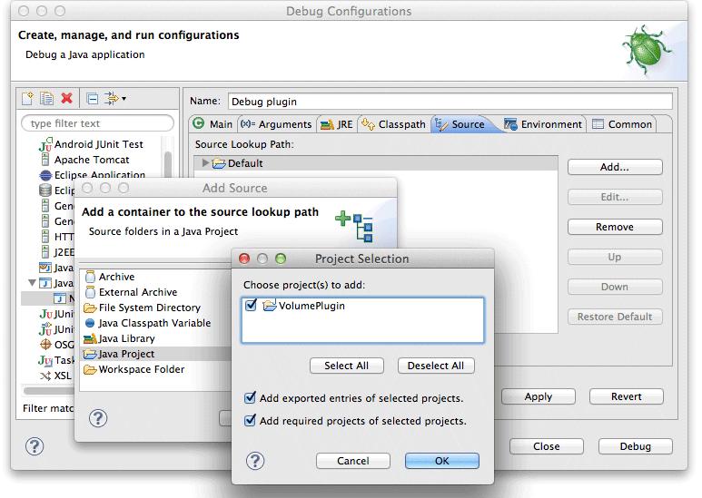 Sourcepath configuration