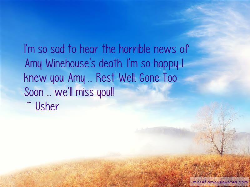 Gone Too Soon Sad Quotes Top 1 Quotes About Gone Too Soon Sad From