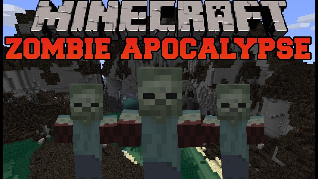 Minecraft Mod 9.99 9 Zombie Apocalypse - Omong t