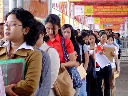Kadar pengangguran lepasi purata tahunan sejak 30 tahun