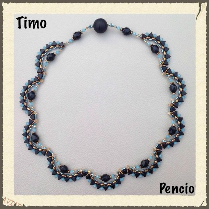Collier de Pencio ... Avec les Khéops - Les perles de PUCA