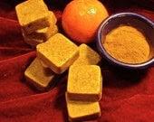 Cinnamon Tangerine Shea Butter Soap (Organic)
