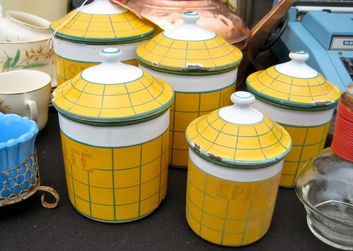 Yellow French Enamelware