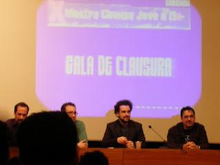 De Izquierda a derecha: Jose, Jose Luis, Vigalongo y Vargas