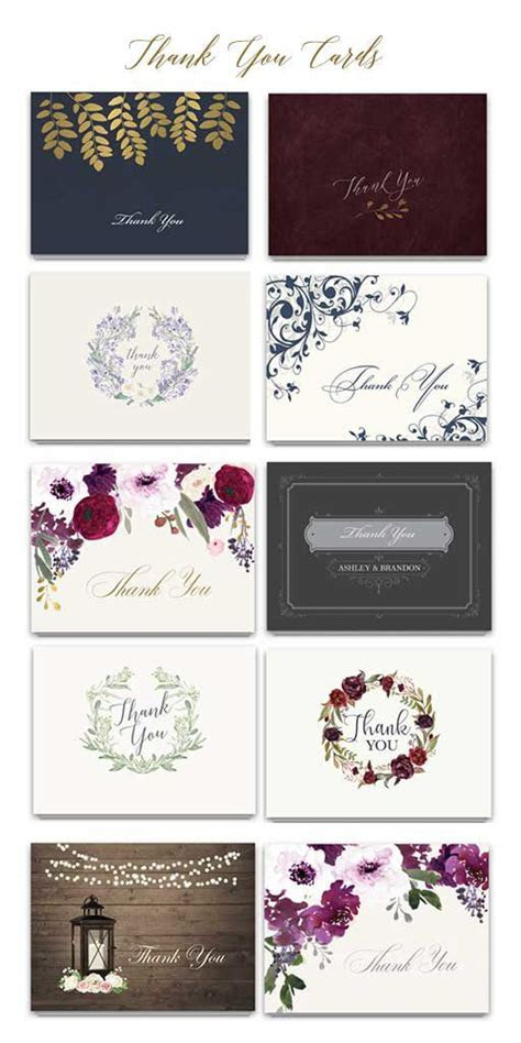 Wedding Thank You Cards Wording and Etiquette