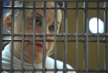 Gordillo comparece ante juez en el reclusorio Oriente. Foto: Xinhua